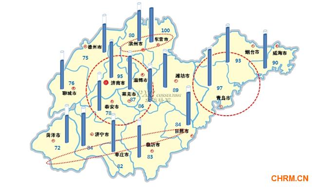 2013年众达朴信山东省薪酬地图